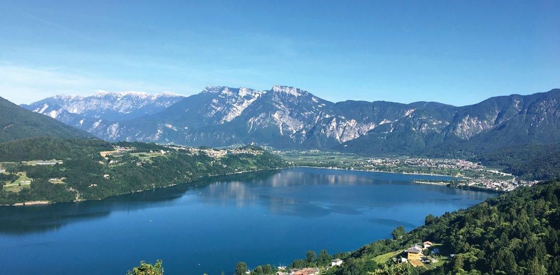 Camping Penisola Verde Caldonazzo 23.Lago panoramica