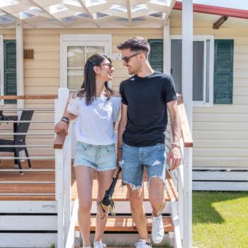 Camping Riviera - Casa mobile
